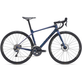 Liv Langma Advanced 1 Disc Femme, chameleon blue/solid black